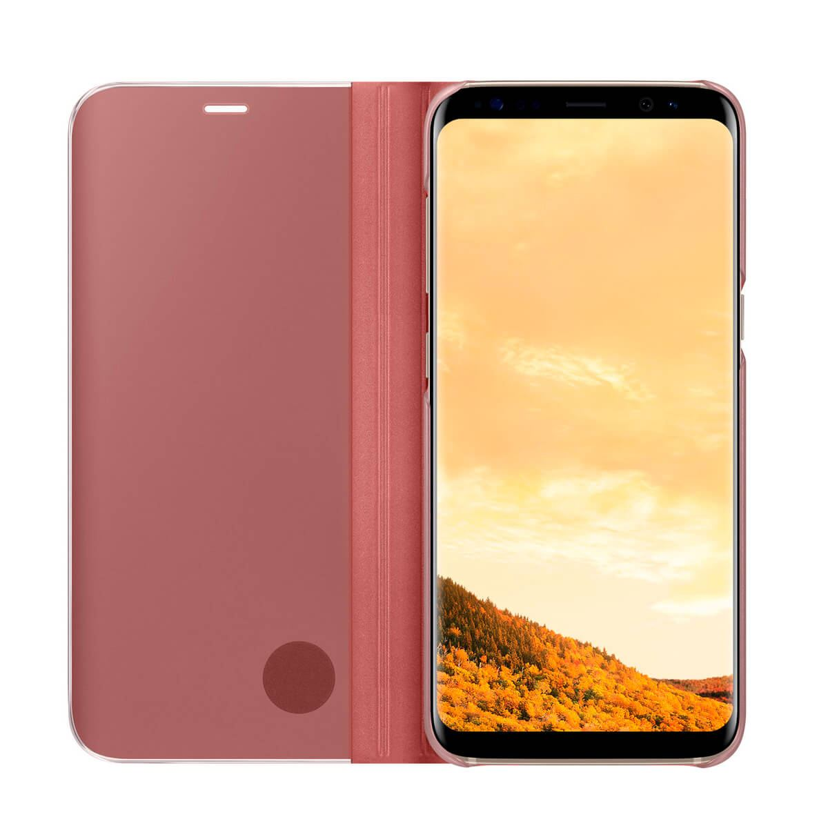 New-Samsung-Galaxy-S10-S9-S8-Smart-View-Mirror-Leather-Flip-Stand-Case-Cover thumbnail 35