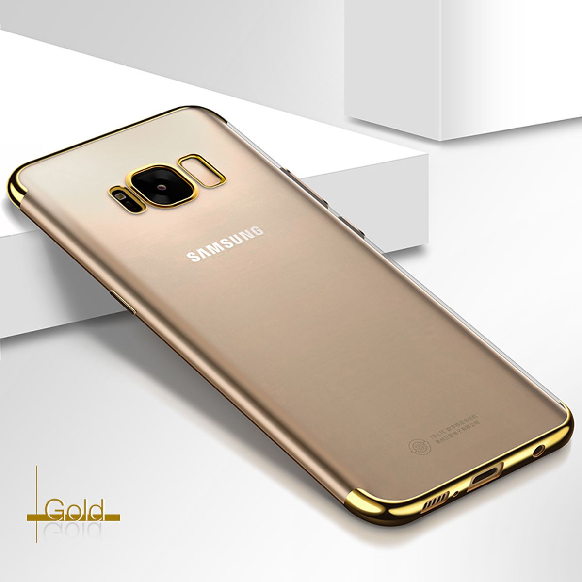 Luxury-Slim-Shockproof-Silicone-Clear-Case-Cover-For-Samsung-Galaxy-S7-S8-S9-A6 thumbnail 71