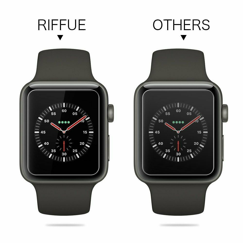 For-Apple-Watch-Series-6-SE-5-4-3-38-40-42-44mm-Tempered-Glass-Screen-Protector thumbnail 8