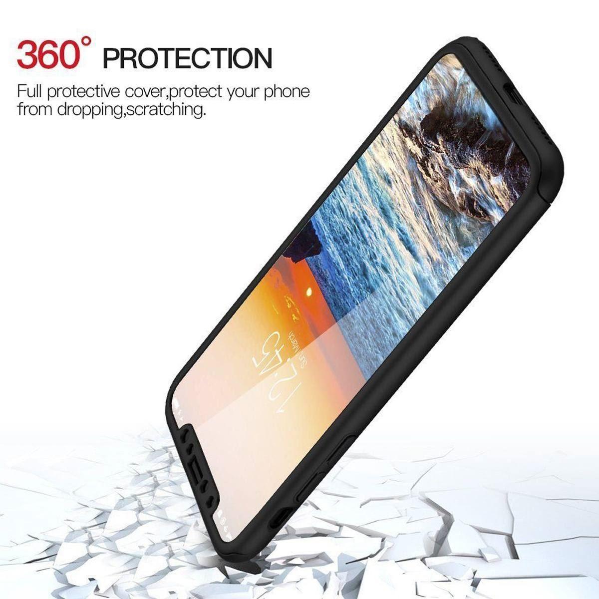For-Apple-iPhone-XS-Max-XR-Hybrid-360-Slim-Ultra-Thin-Heavy-Duty-Shockproof-Case Indexbild 91