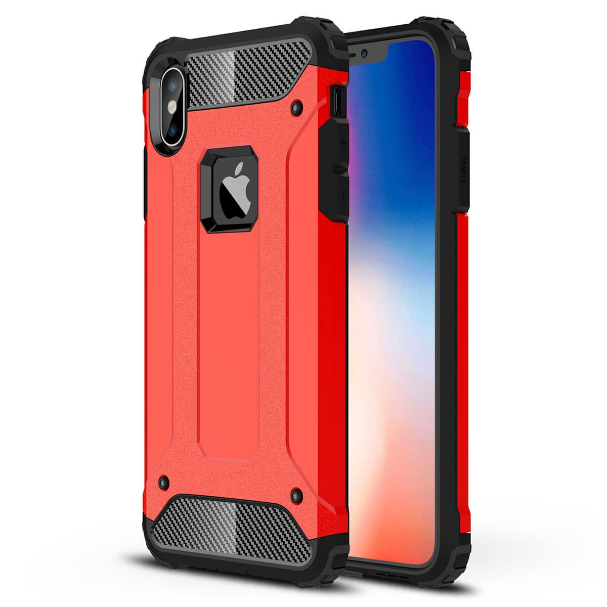 Shockproof-Bumper-Case-For-Apple-iPhone-10-X-8-7-Plus-6s-5s-Hybrid-Armor-Rugged thumbnail 20