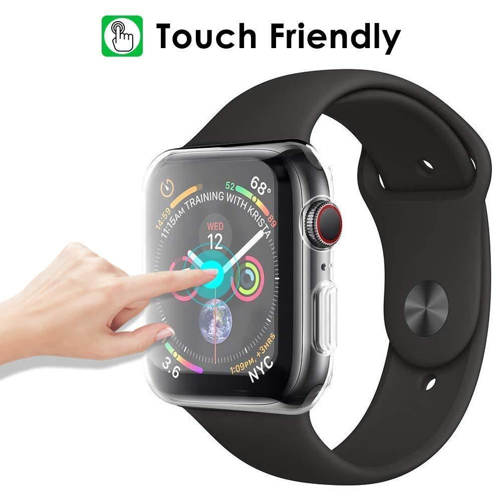 TPU-Gel-Case-For-Apple-Watch-Responsive-Touch-Full-Screen-Curved-Edge-Protective thumbnail 12