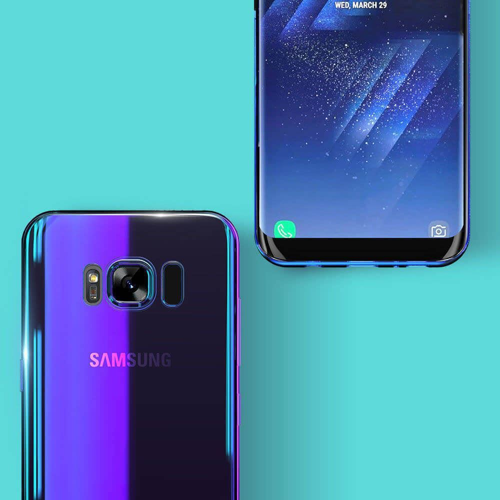 Blu-Ray-Gradient-Colour-Mirror-Hard-Back-Case-Cover-For-Samsung-Galaxy-S7-S8-S9 Indexbild 18