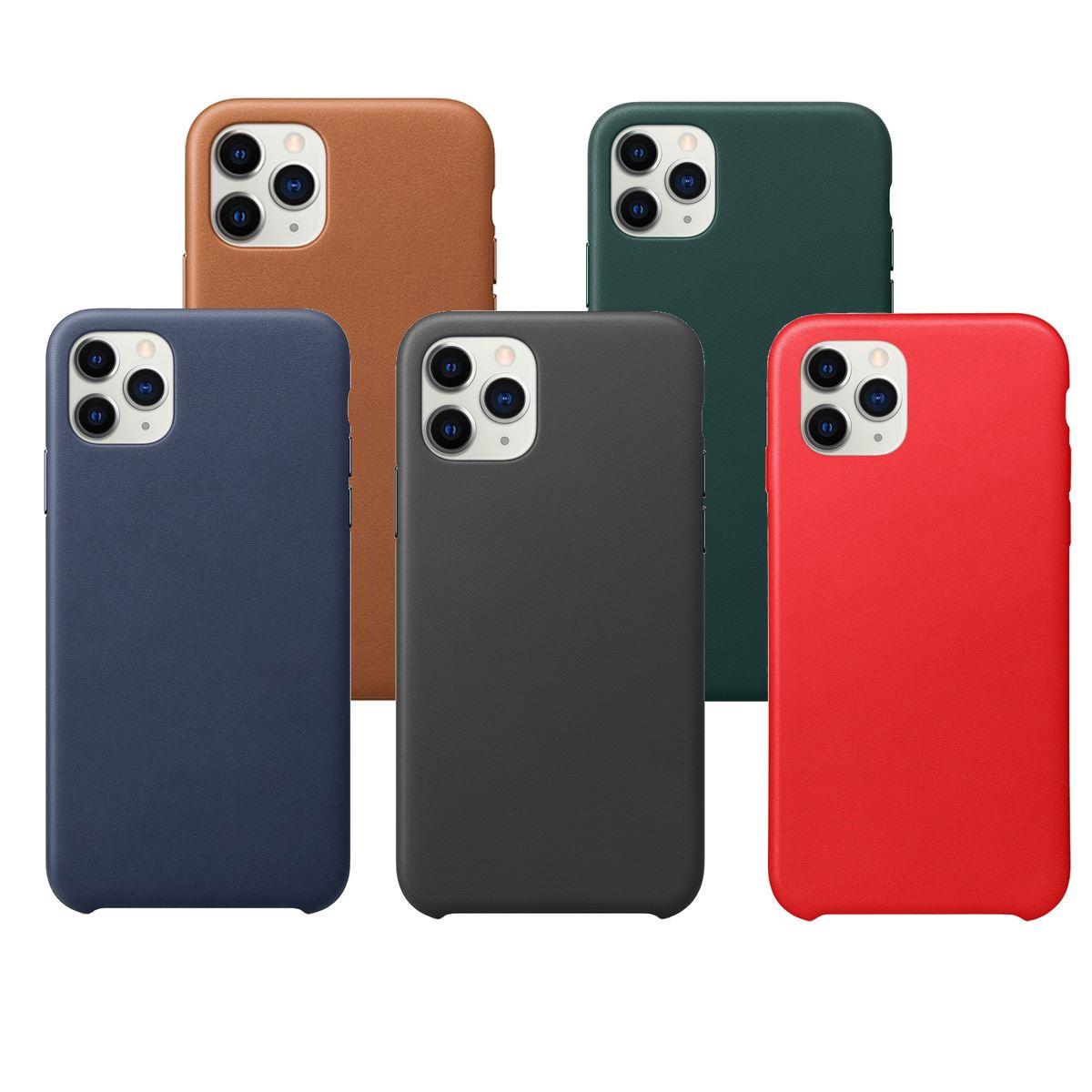 Leather-Slim-Case-Apple-iPhone-10-8-7-Plus-6s-5-Original-PU-Soft-Silicone-Cover thumbnail 9
