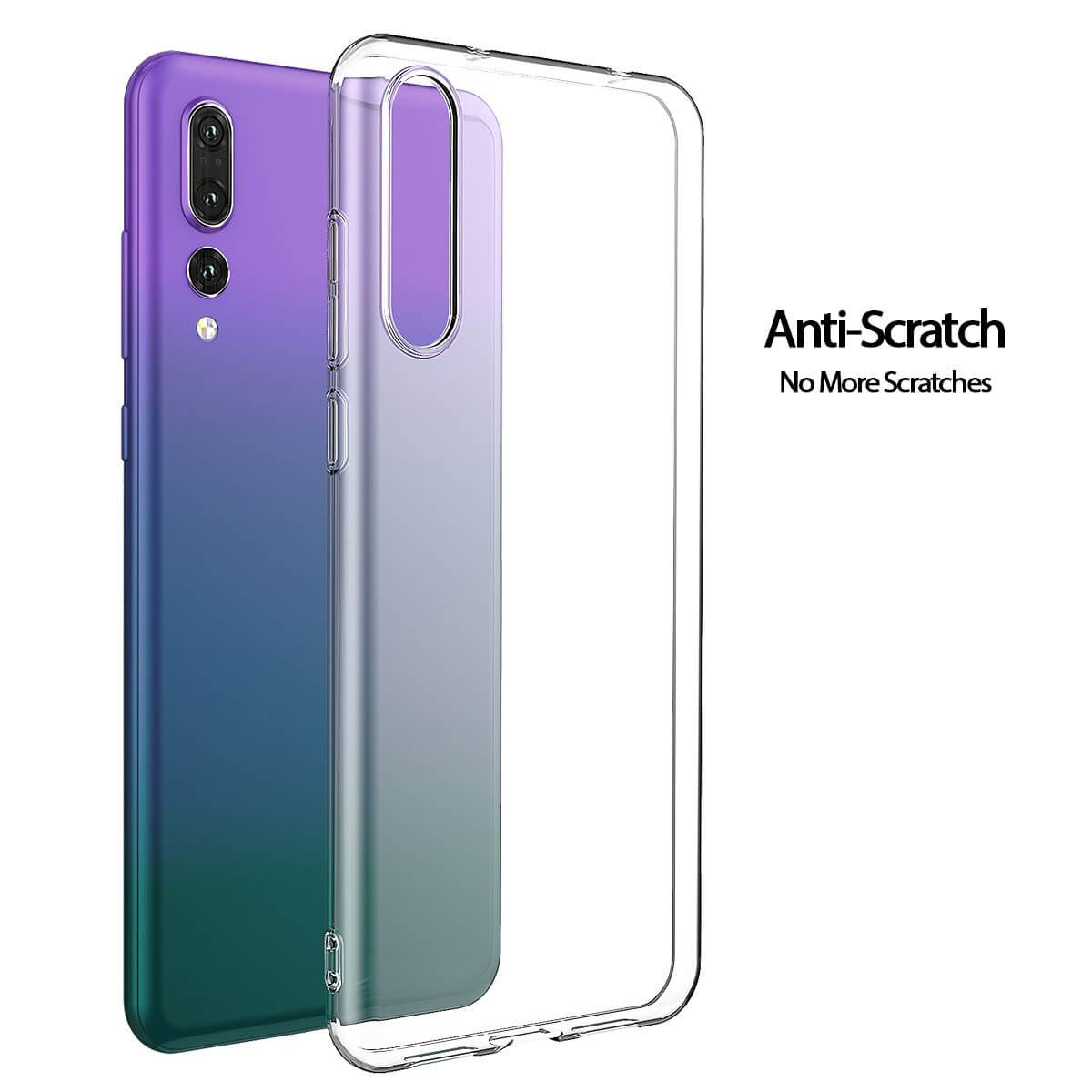 Shockproof-Silicone-Protective-Clear-Gel-Cover-Case-For-Huawei-P20-Pro-P-Smart thumbnail 29