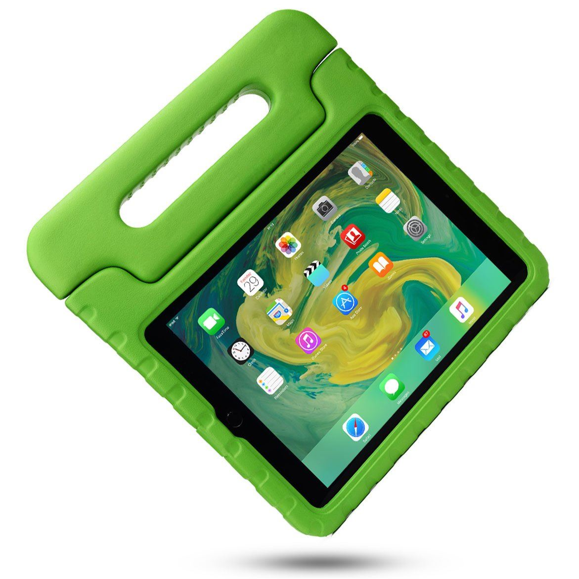 Kids-Shockproof-iPad-Case-Cover-EVA-Foam-Stand-For-Apple-iPad-Mini-1-2-3-4-Air-2 Indexbild 50
