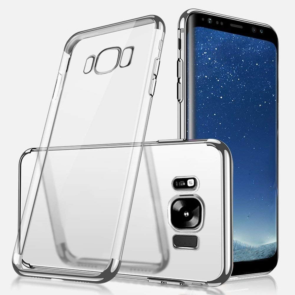 Luxury-Ultra-Slim-Shockproof-Silicone-Clear-Case-Cover-For-Samsung-Galaxy-S8-S9 miniature 62