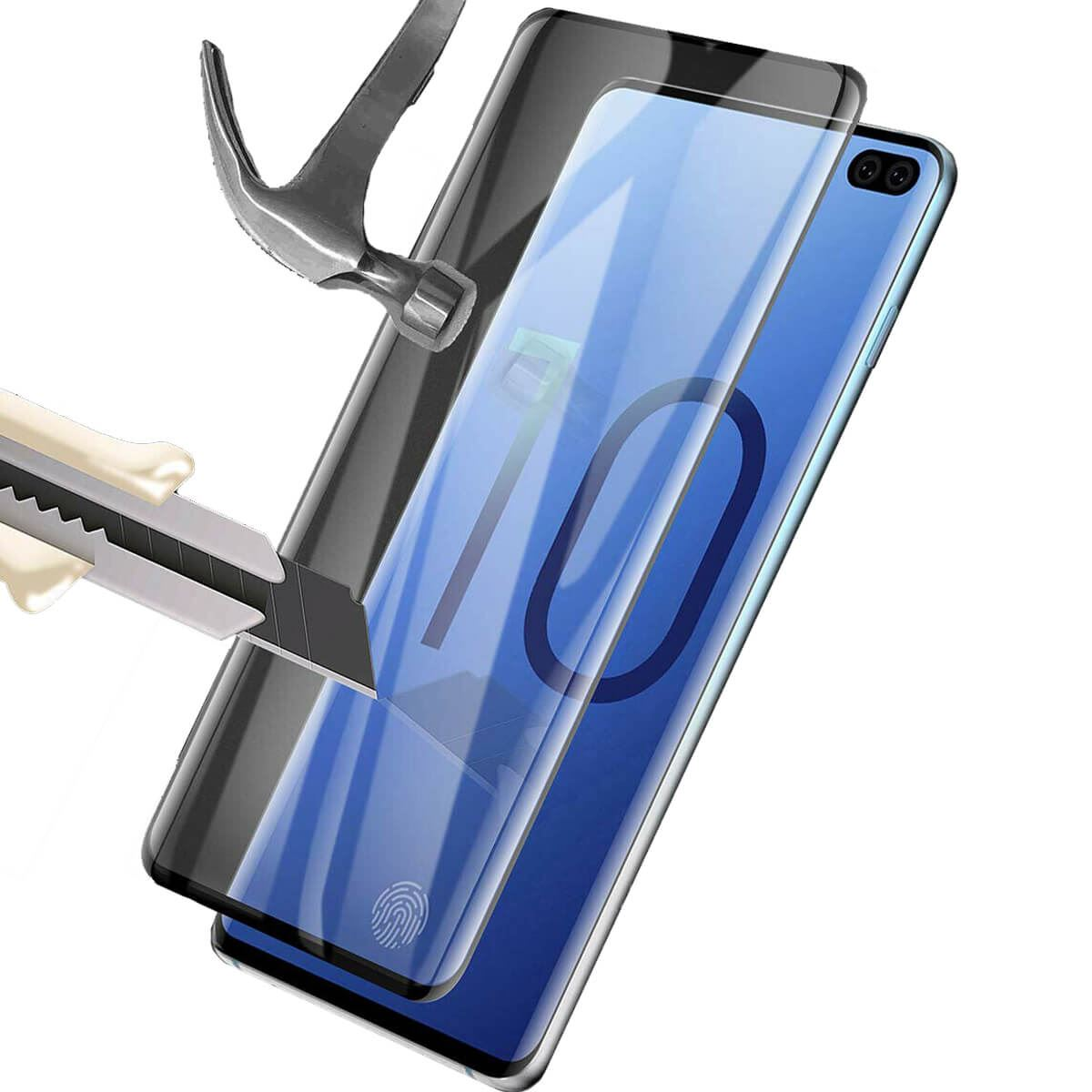 Screen-Protector-Film-Full-Coverage-Curved-Fit-Samsung-Galaxy-S10-S10E-Plus thumbnail 4