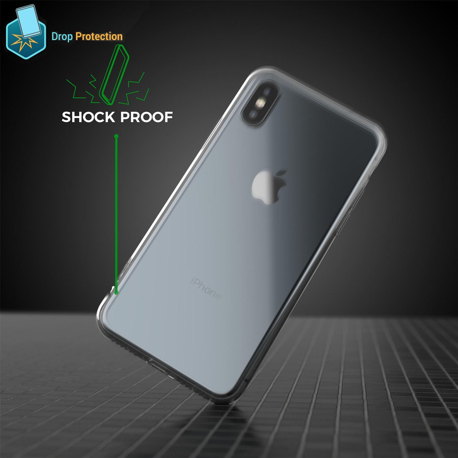 thumbnail 17 - For Apple iPhone XR Xs Max X 8 7 Plus 6 5 Se Case Cover Clear Transparent CS283