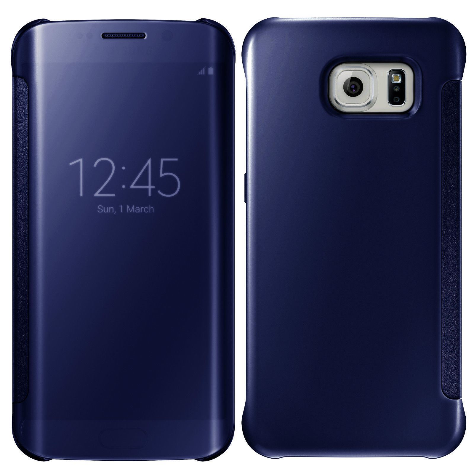 NEW-SAMSUNG-GALAXY-S7-S8-S9-S9-MIRROR-FLIP-CASE-COVER-WALLET-WITH-BUILT-IN-CHIP