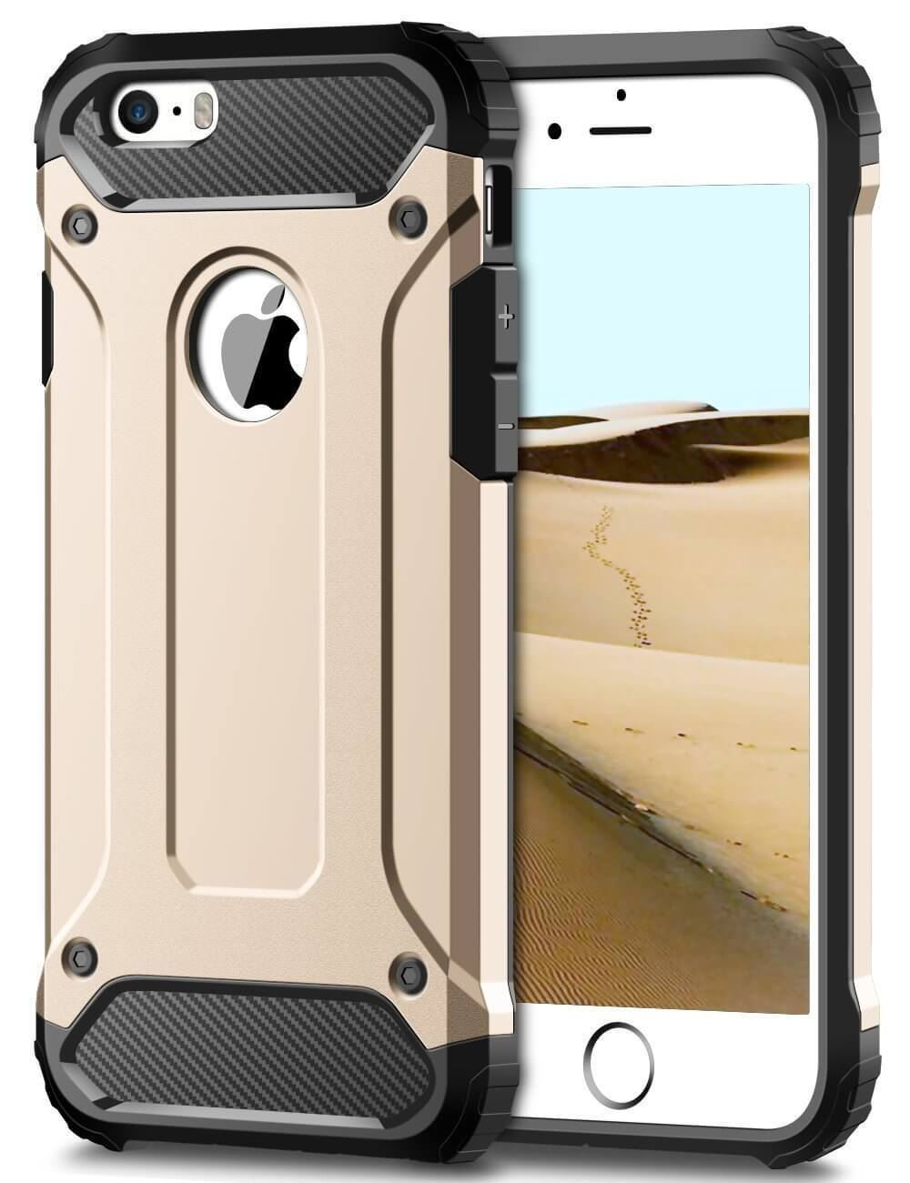 Hybrid-Armor-Shockproof-Rugged-Bumper-Case-For-Apple-iPhone-10-X-8-7-Plus-6s-5s miniature 56