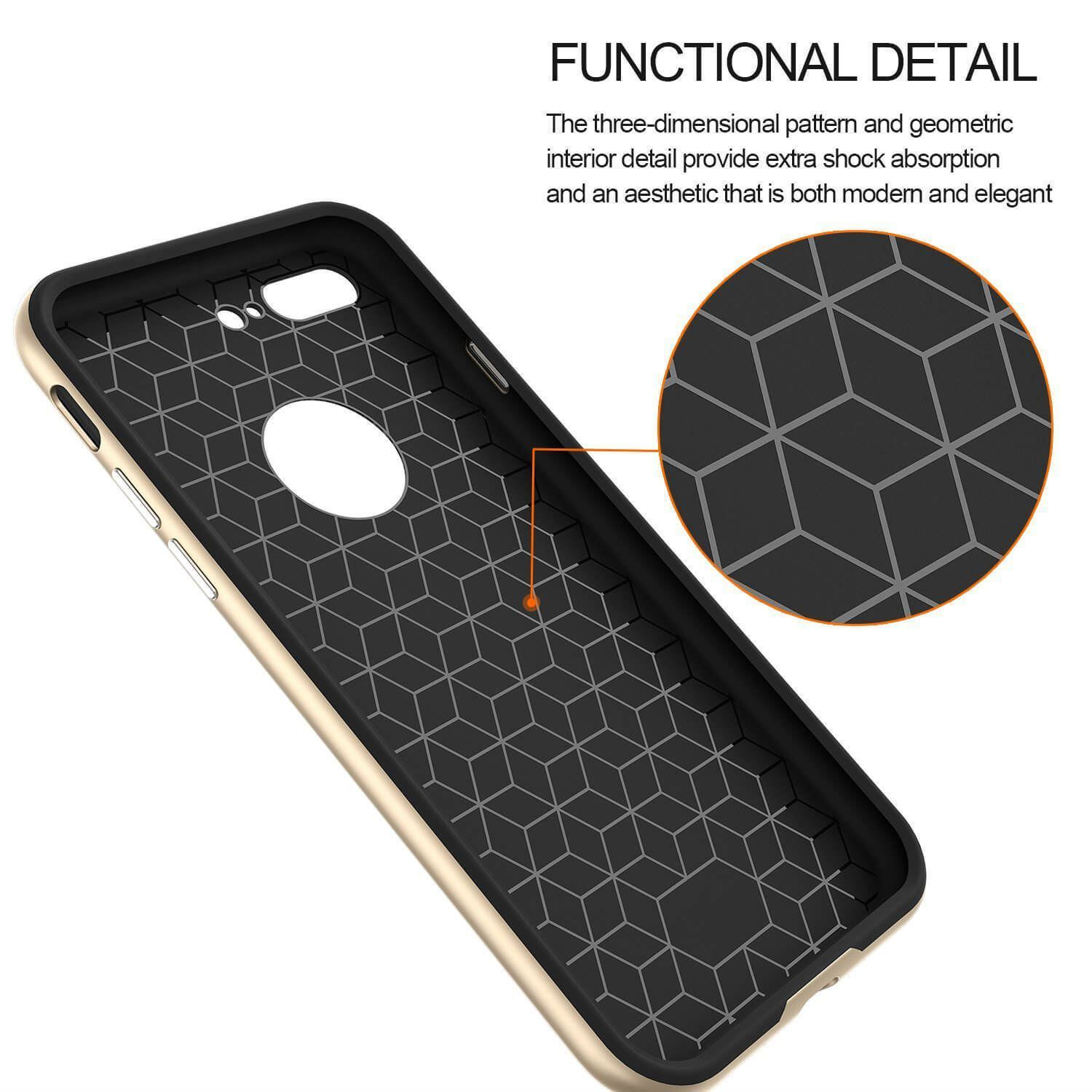 Luxury-Carbon-Fibre-Bumper-Hard-Back-Case-Cover-For-Apple-iPhone-10-X-8-7-6s-5s