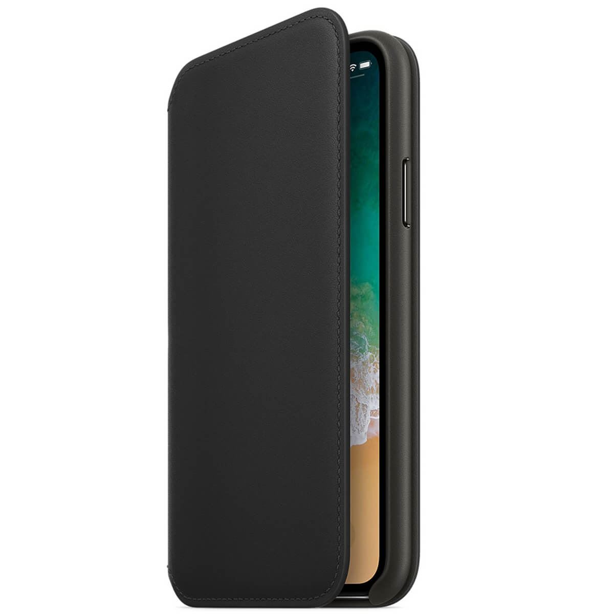 Genuine-Leather-Folio-Flip-Wallet-Case-Cover-For-Apple-iPhone-X-8-7-6S-6-Plus thumbnail 27