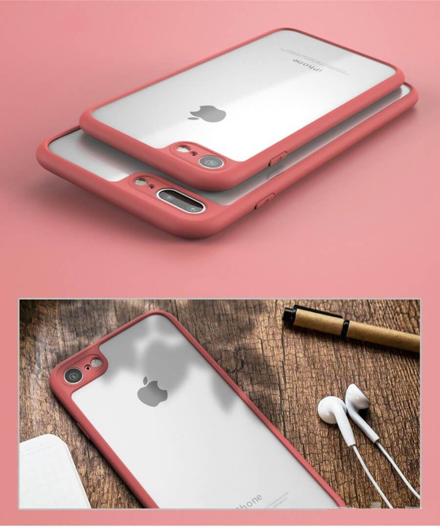 Case-For-Apple-iPhone-10-X-8-7-6s-5-Luxury-Ultra-Slim-Shockproof-PC-Bumper-Cover thumbnail 17
