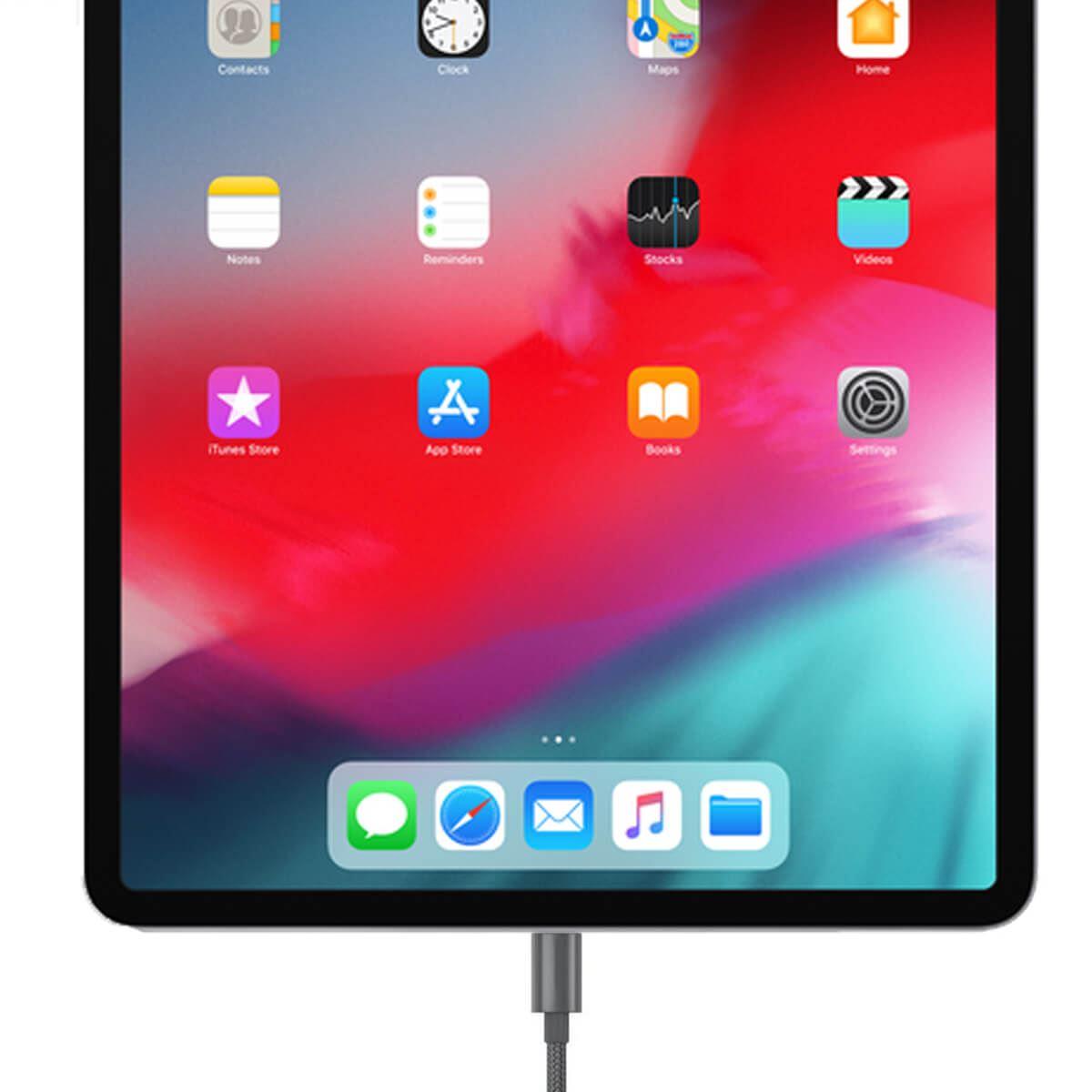 Indexbild 3 - Hochleistung-metall Geflochtenes Blitz-USB-ladekabel 1M 2M 3M Für iPhone X 7 6 5