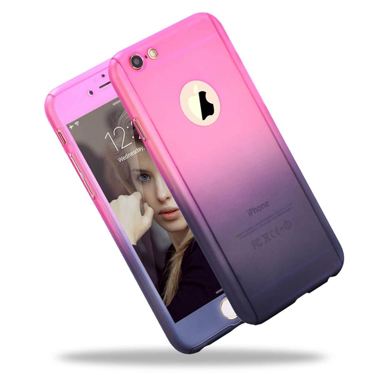 For-Apple-iPhone-XS-Max-XR-Hybrid-360-Slim-Ultra-Thin-Heavy-Duty-Shockproof-Case Indexbild 98