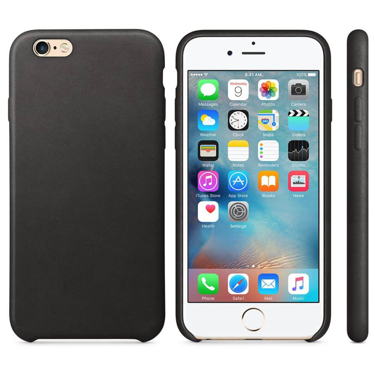 Leather-Slim-Case-Apple-iPhone-10-8-7-Plus-6s-5-Original-PU-Soft-Silicone-Cover thumbnail 5