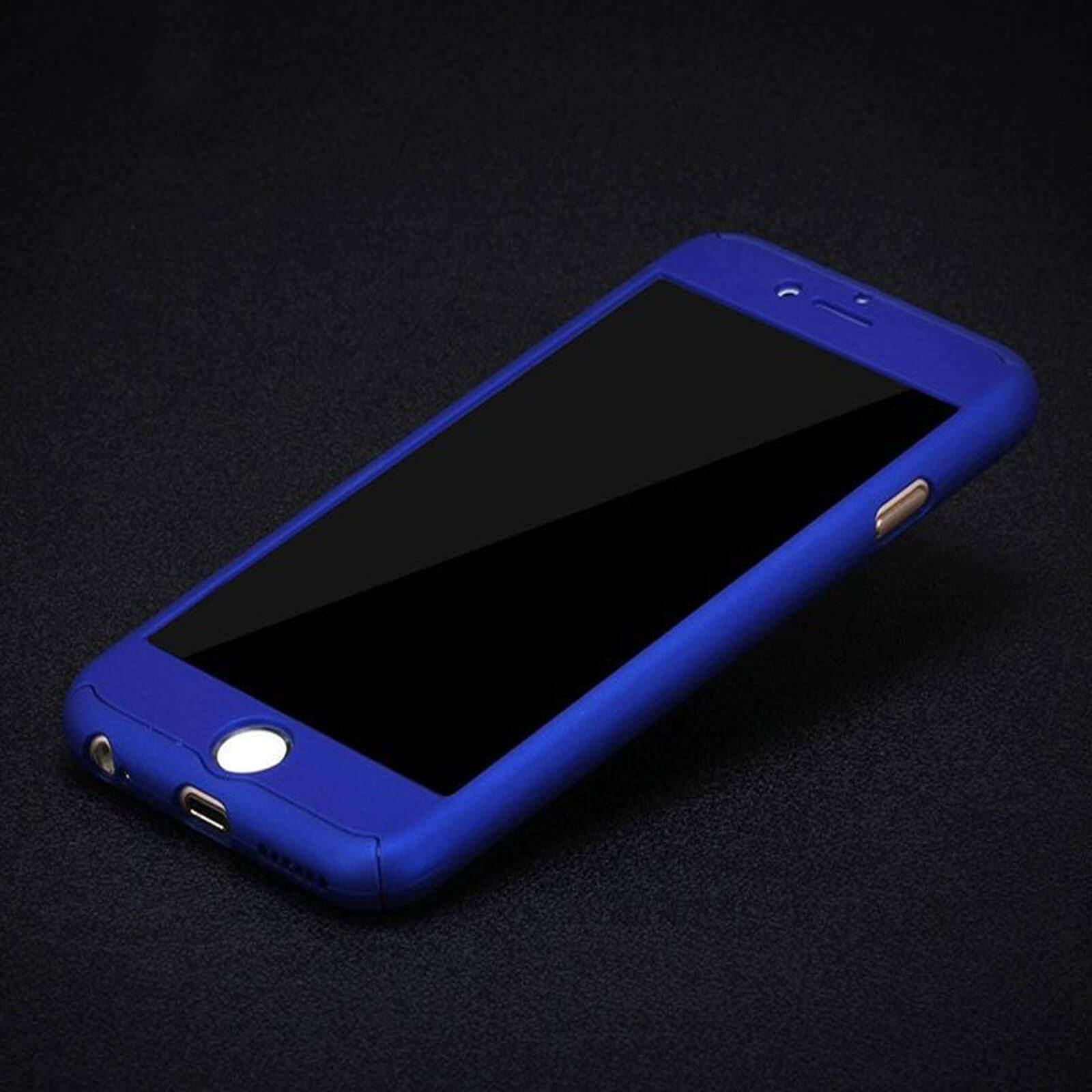 Hybrid-360-Shockproof-Case-Tempered-Glass-Cover-For-Apple-iPhone-10-X-8-7-6s-5