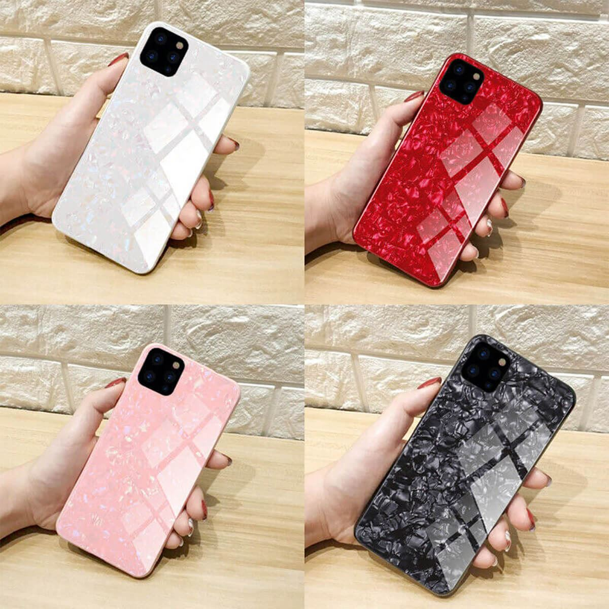 Marble-Tempered-Glass-Case-For-Apple-iPhone-X-XS-XR-Max-10-8-7-6s-6-Luxury-Cover thumbnail 8