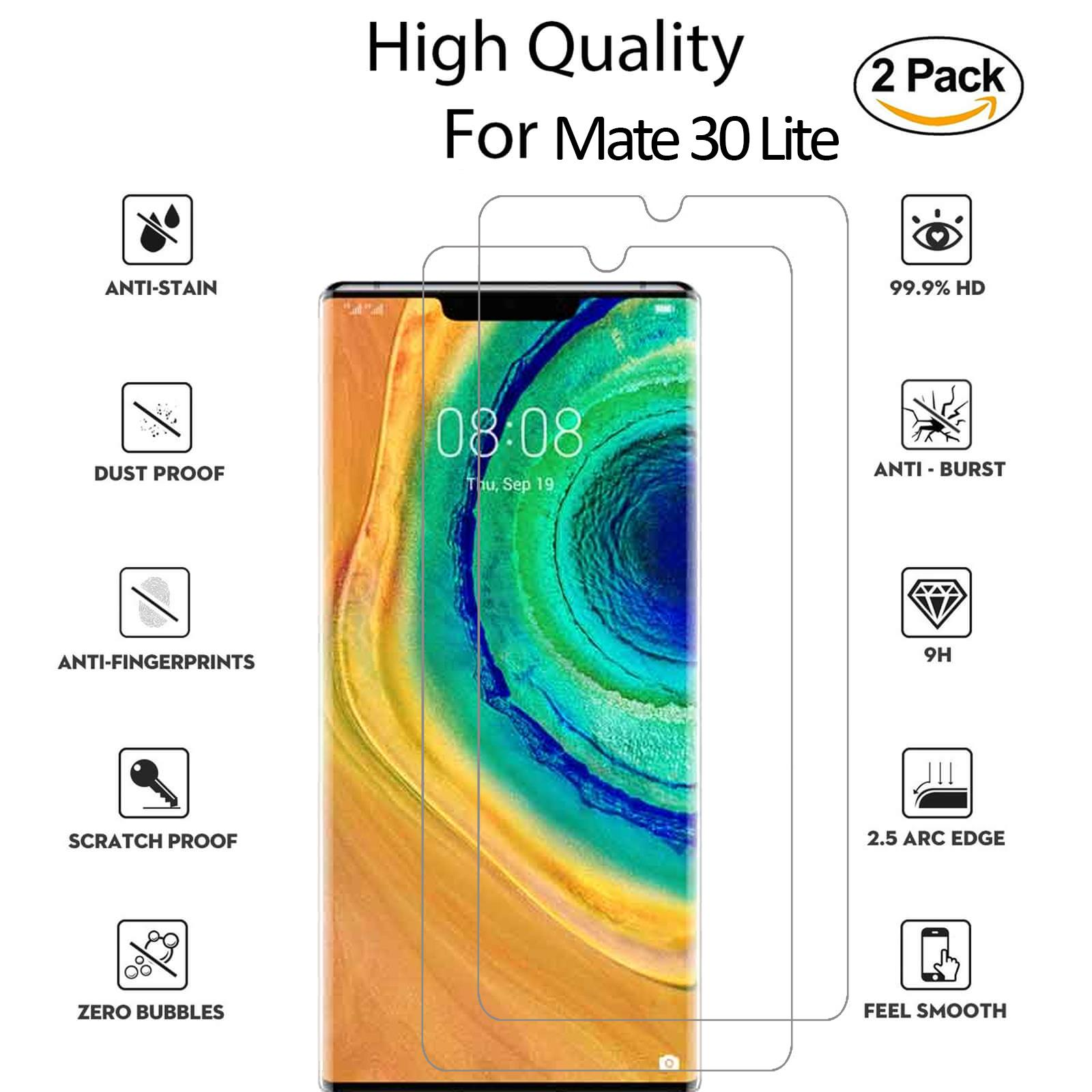 For-Huawei-Tempered-Glass-New-Full-Screen-Protector-Mate-20-P20-P30-Pro-Lite thumbnail 143