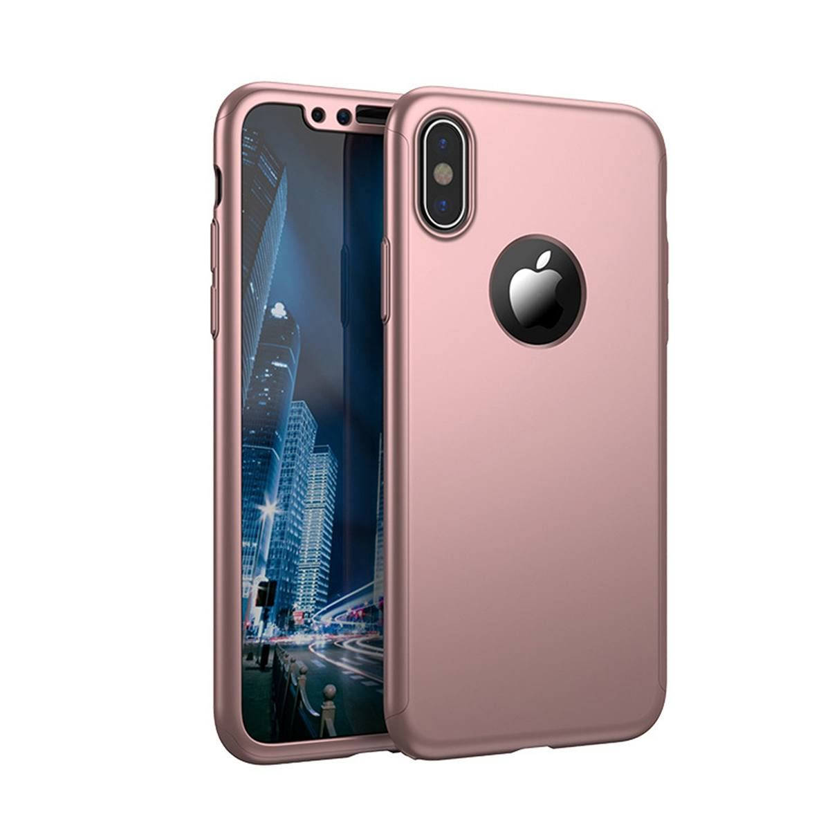 For-Apple-iPhone-XS-Max-XR-Hybrid-360-Slim-Ultra-Thin-Heavy-Duty-Shockproof-Case thumbnail 33