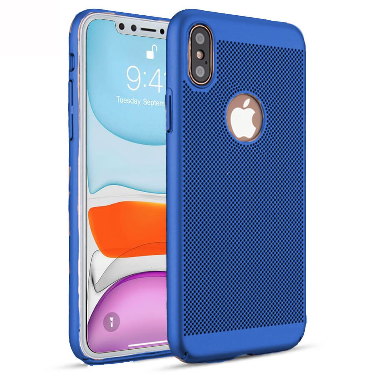 Ultra-Thin-Case-Apple-iPhone-10-X-8-7-6s-5s-Luxury-Slim-PC-Mesh-Hard-Back-Cover thumbnail 12