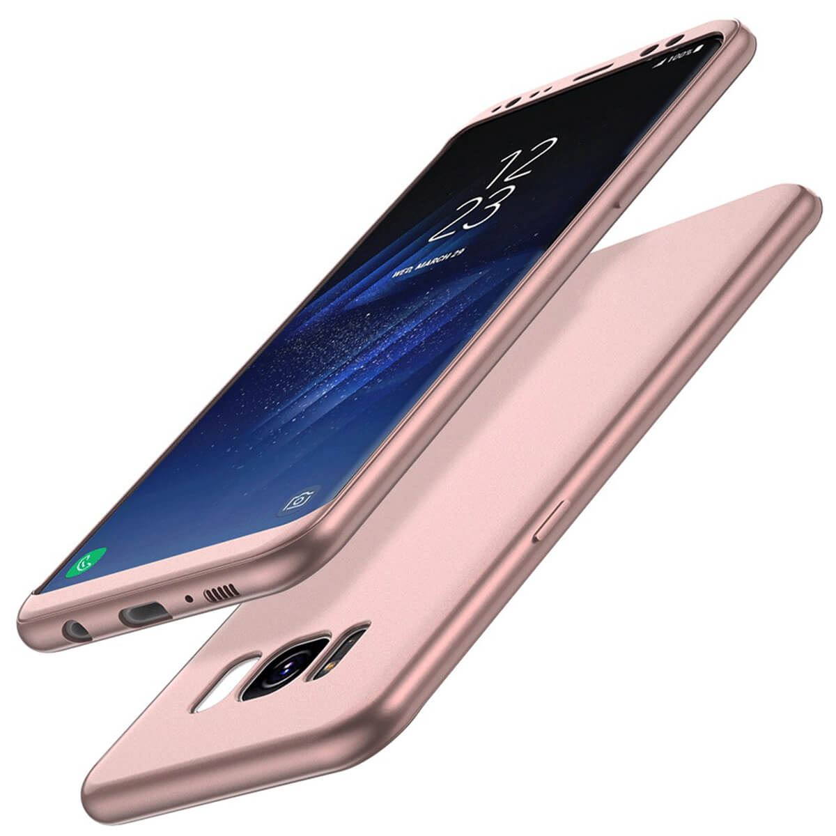 ShockProof-Thin-Case-For-Samsung-Galaxy-S7-edge-S8-Plus-Hybrid-360-TPU-Cover thumbnail 14