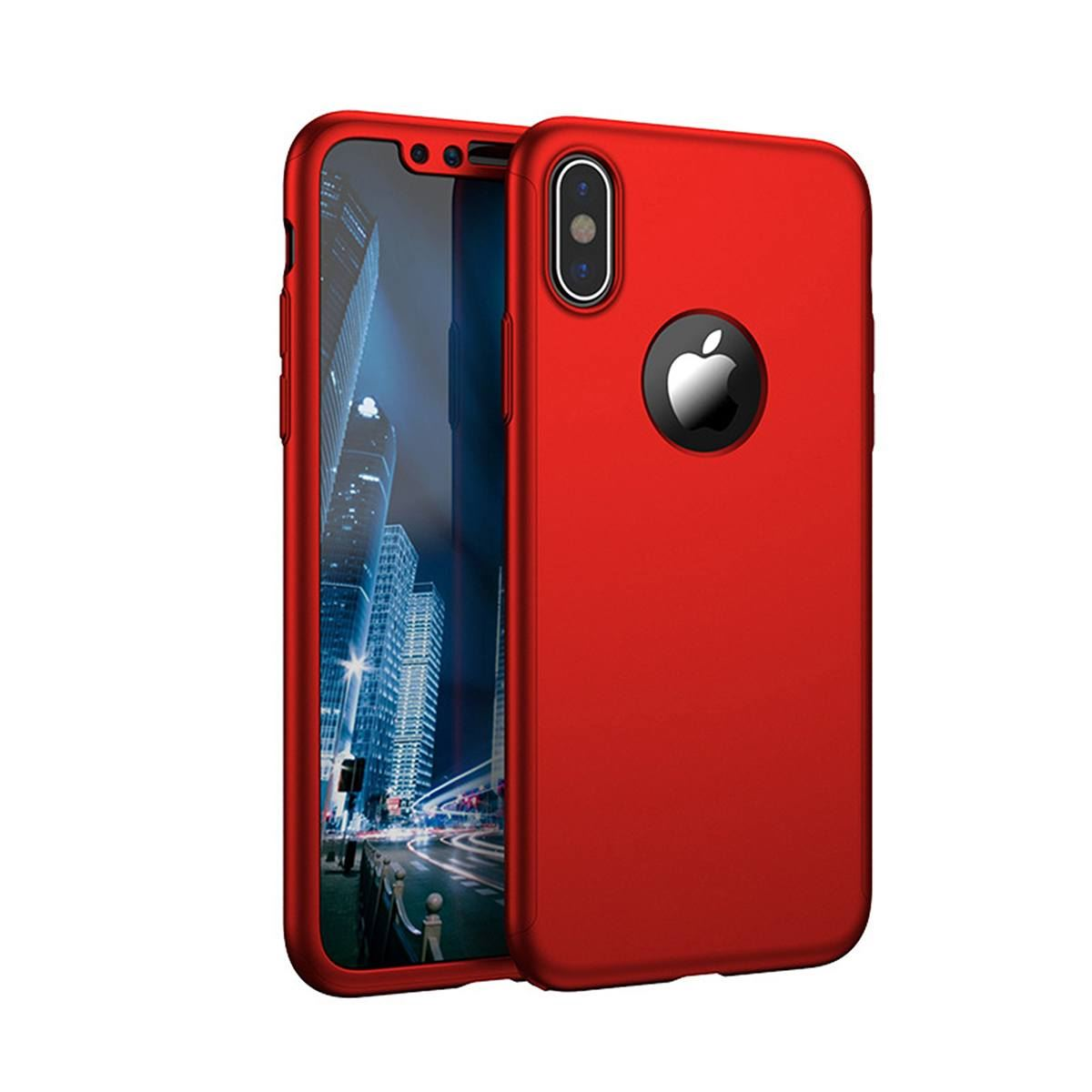 For-Apple-iPhone-XS-Max-XR-Hybrid-360-Slim-Ultra-Thin-Heavy-Duty-Shockproof-Case thumbnail 45