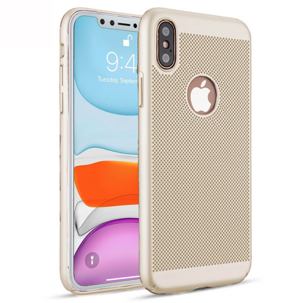 Ultra-Thin-Case-Apple-iPhone-10-X-8-7-6s-5s-Luxury-Slim-PC-Mesh-Hard-Back-Cover thumbnail 9