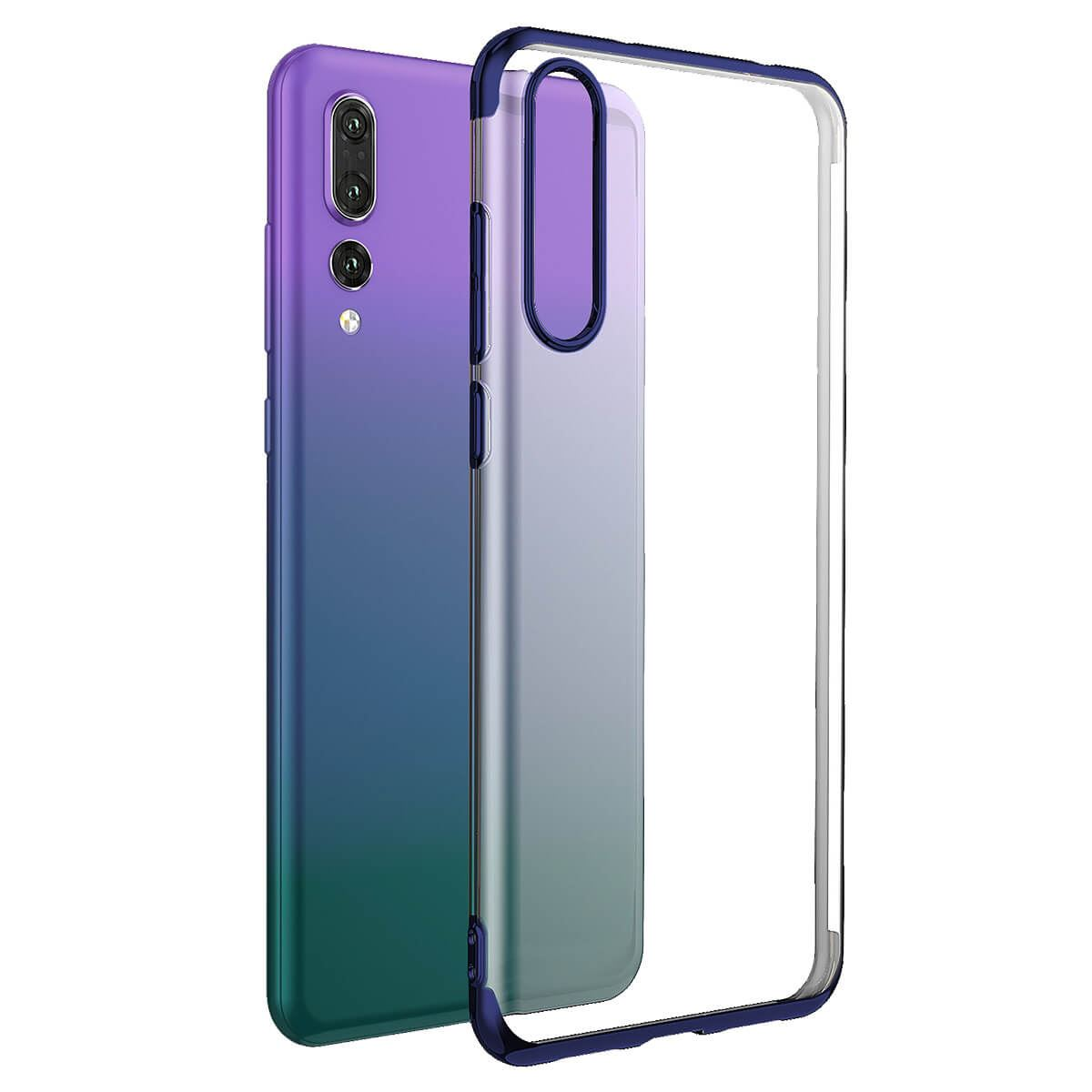 Case-For-Huawei-P20-Pro-P-Smart-Stylish-Hybrid-Shockproof-Plating-Silicone-Cover thumbnail 10