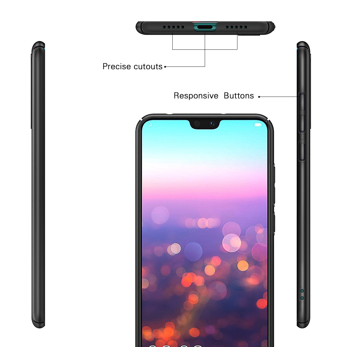Luxury-Protective-Slim-Thin-Hard-Back-Case-Cover-For-Huawei-P20-Pro-P10-P-Smart thumbnail 18