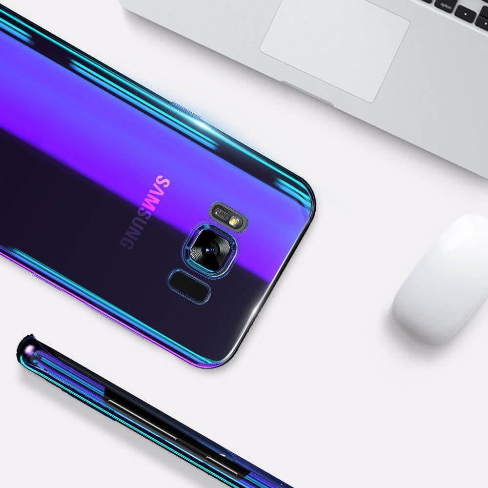 Blu-Ray-Gradient-Colour-Mirror-Hard-Back-Case-Cover-For-Samsung-Galaxy-S7-S8-S9 Indexbild 25