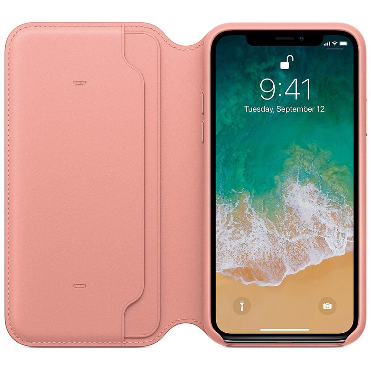 Genuine-Leather-Folio-Flip-Wallet-Case-Cover-For-Apple-iPhone-X-8-7-6S-6-Plus thumbnail 39