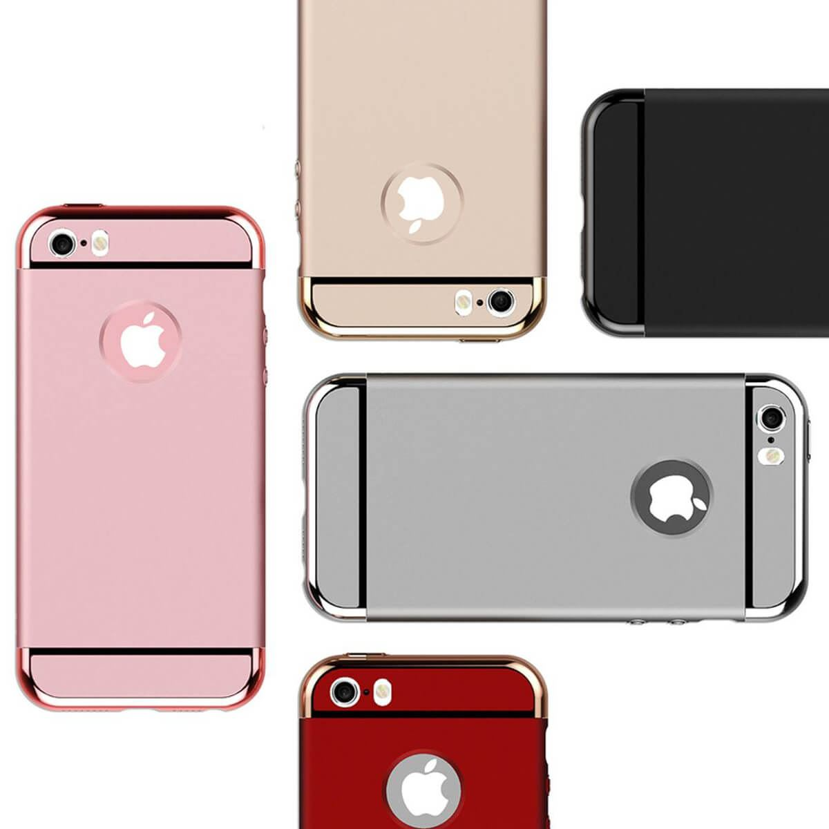 ShockProof-Thin-Case-For-Apple-iPhone-5-Se-7-6s-Plus-360-Hybrid-Matte-Slim-Cover thumbnail 25