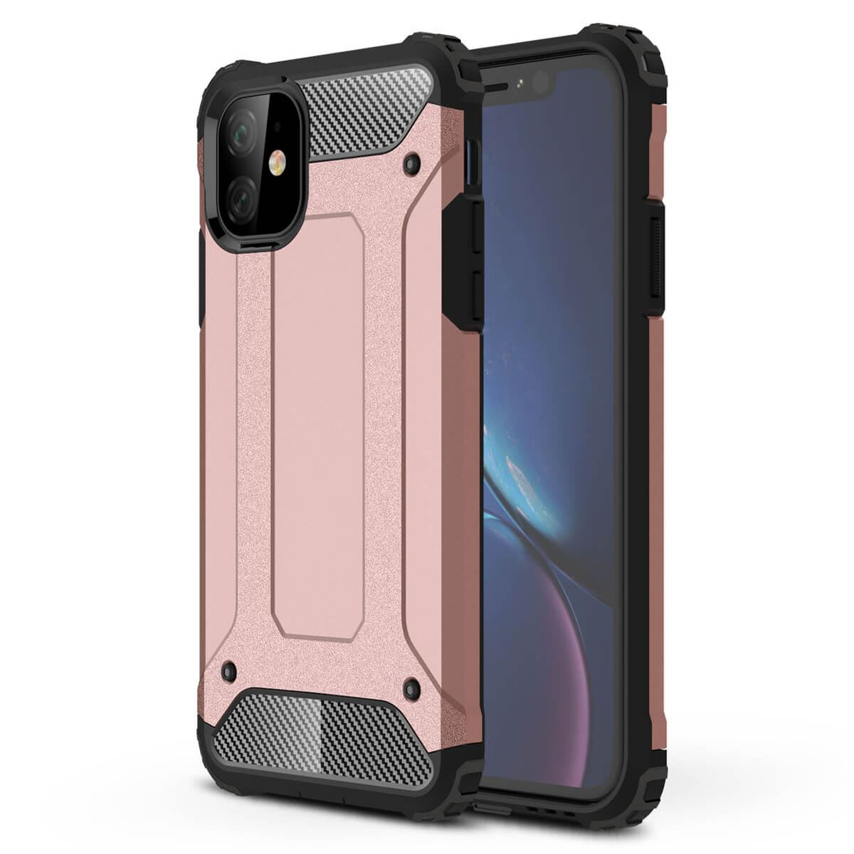 Shockproof-Bumper-Case-For-Apple-iPhone-10-X-8-7-Plus-6s-5s-Hybrid-Armor-Rugged thumbnail 23