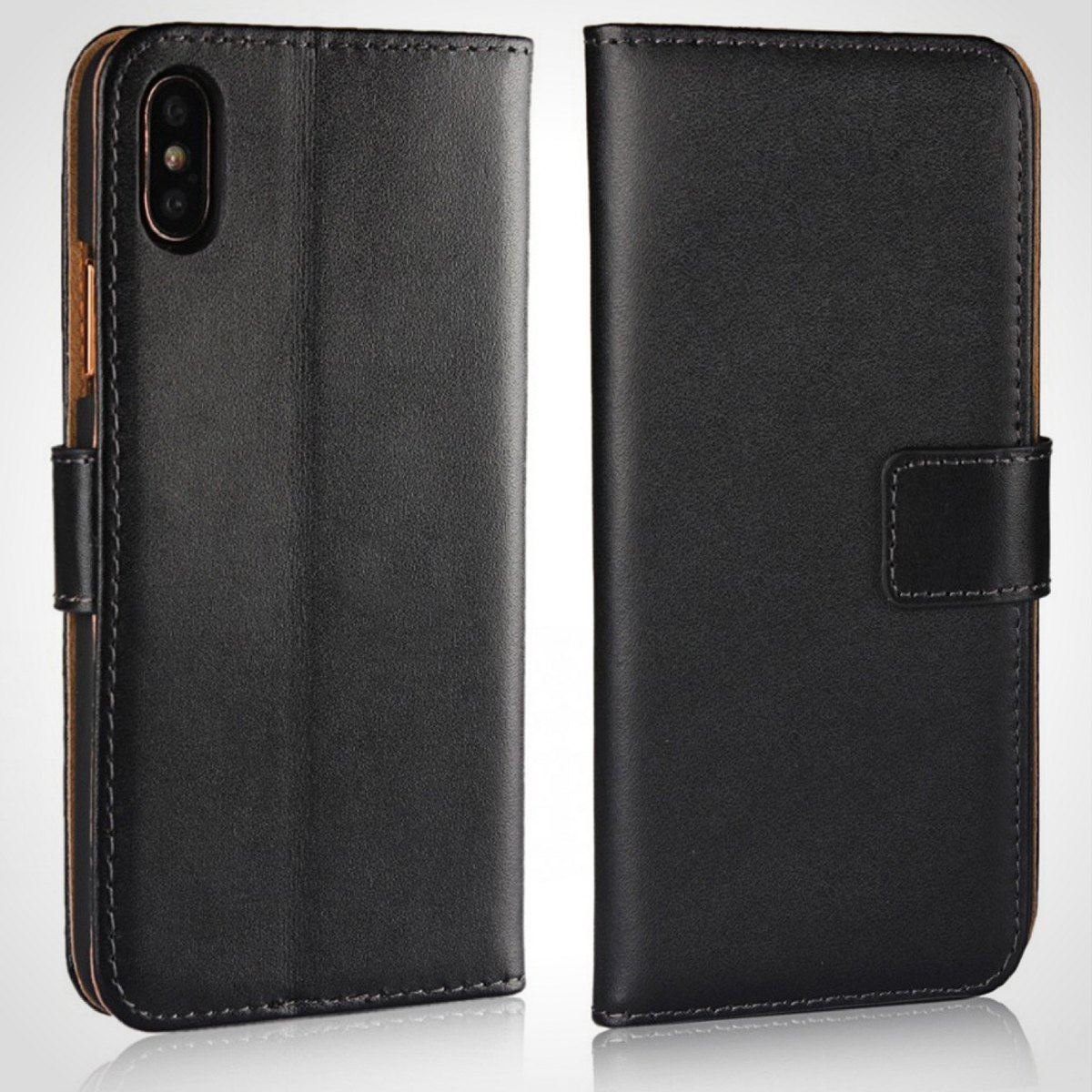 thumbnail 8 - For Apple iPhone 12 11 XR XS Max Leather Flip Wallet Magnetic Stand Card Case