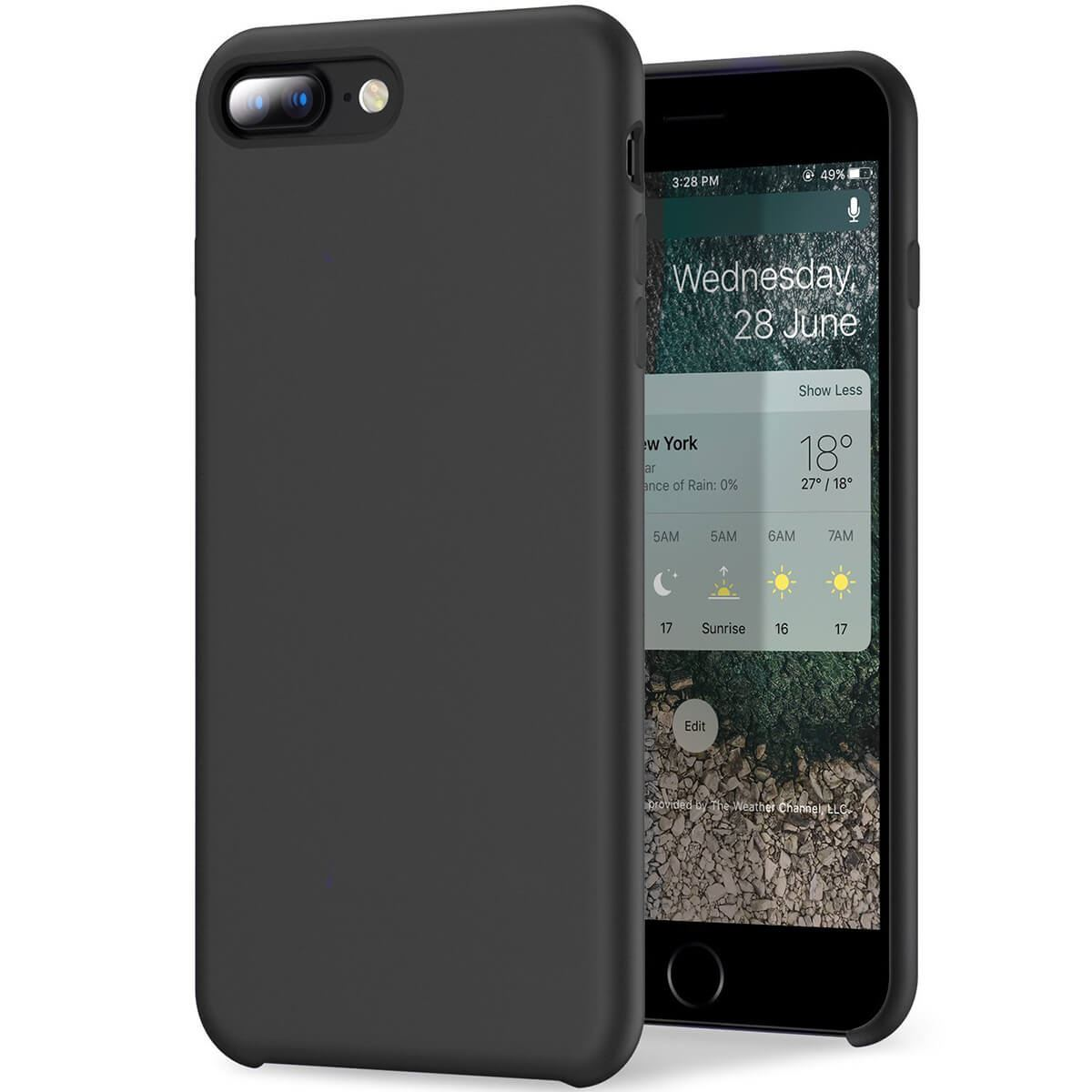 Liquid-Silicone-Phone-Case-For-Apple-iPhone-Soft-Shockproof-Matte-Back-Cover thumbnail 5