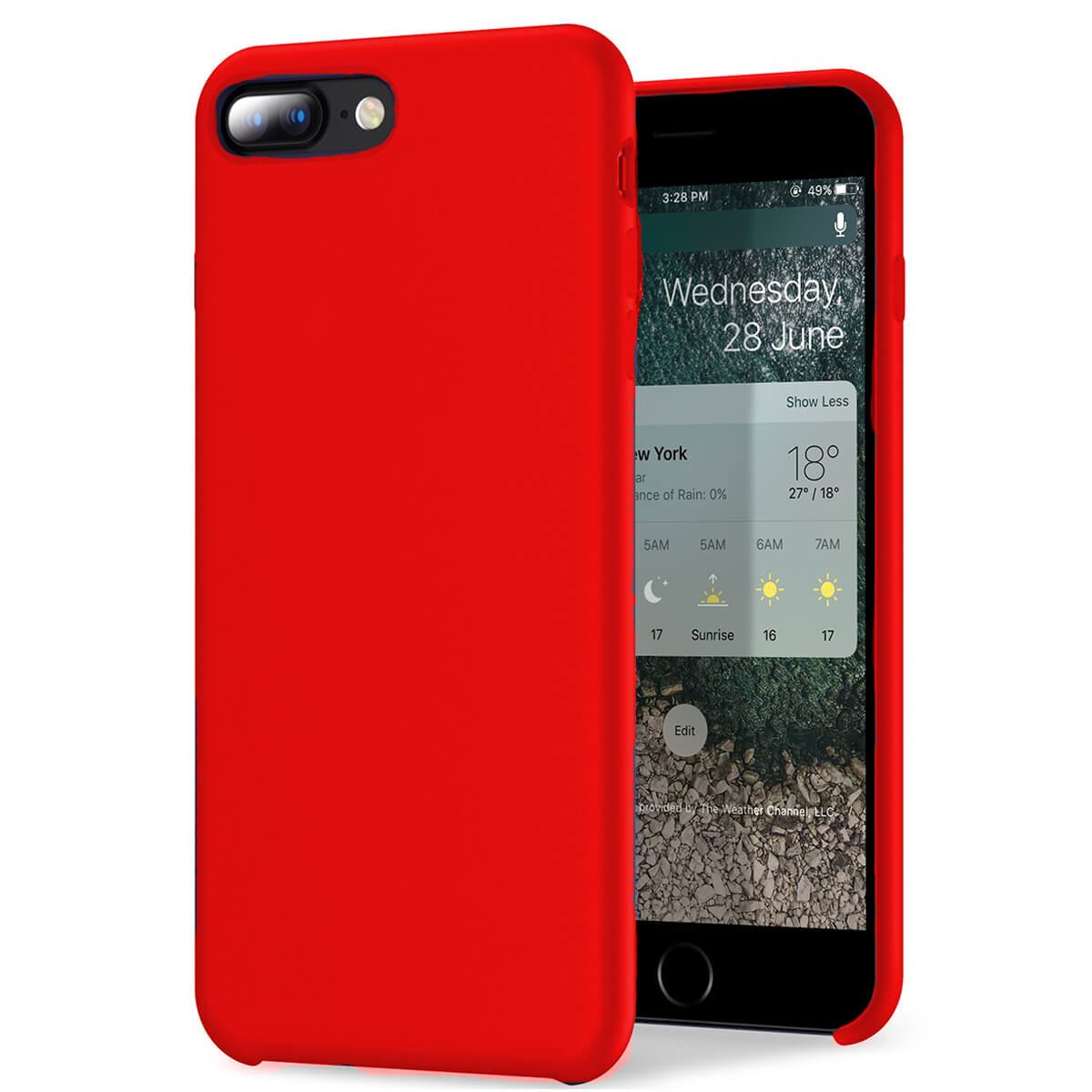 Liquid-Silicone-Phone-Case-For-Apple-iPhone-Soft-Shockproof-Matte-Back-Cover thumbnail 18