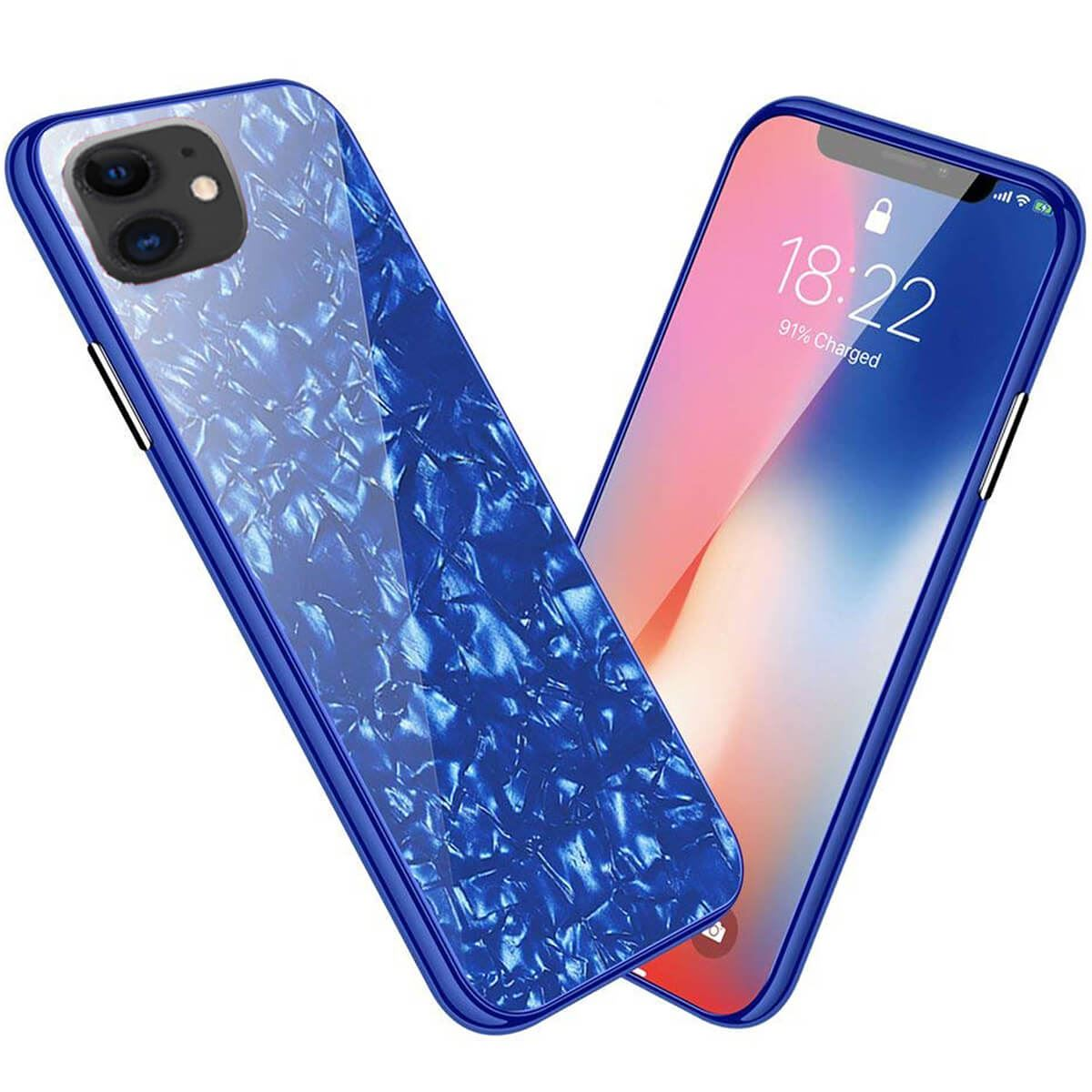 Marble-Tempered-Glass-Case-For-Apple-iPhone-X-XS-XR-Max-10-8-7-6s-6-Luxury-Cover thumbnail 13