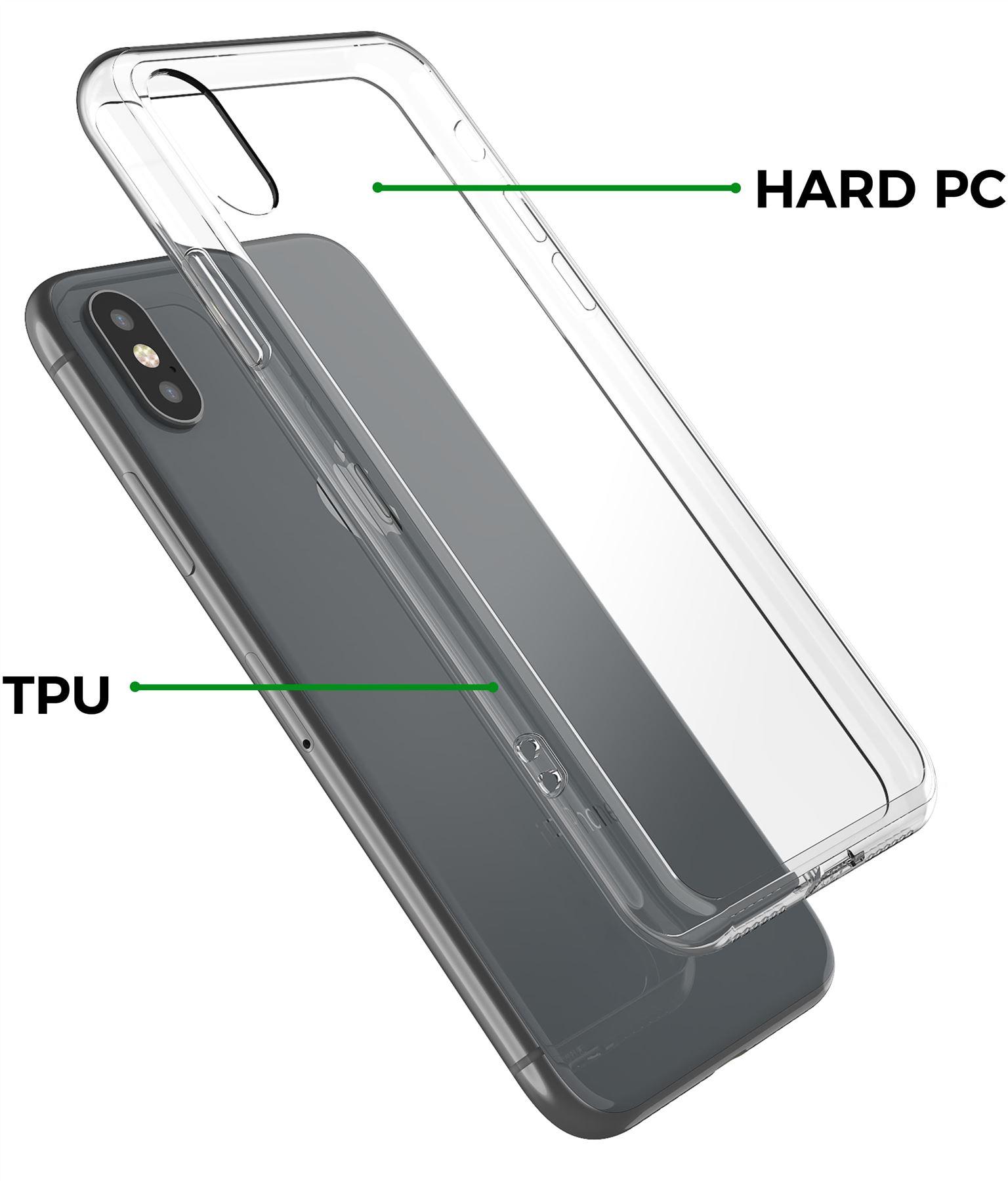 thumbnail 14 - For Apple iPhone XR Xs Max X 8 7 Plus 6 5 Se Case Cover Clear Transparent CS283
