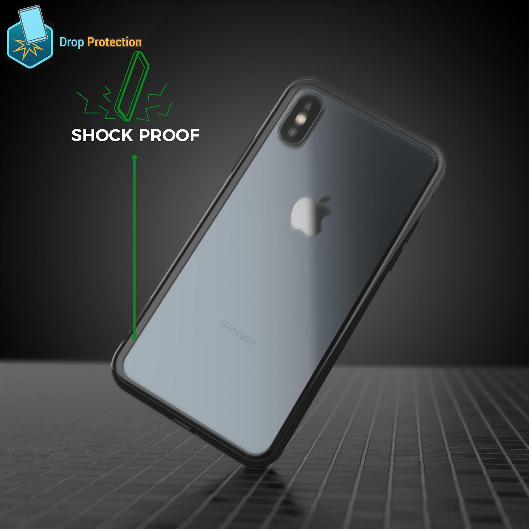 thumbnail 11 - For Apple iPhone XR Xs Max X 8 7 Plus 6 5 Se Case Cover Clear Transparent CS283