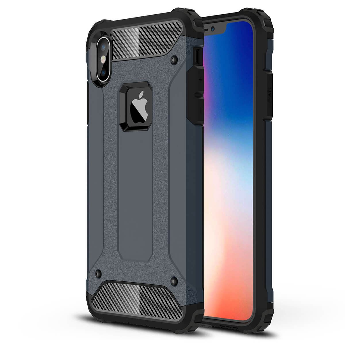 Shockproof-Bumper-Case-For-Apple-iPhone-10-X-8-7-Plus-6s-5s-Hybrid-Armor-Rugged thumbnail 16