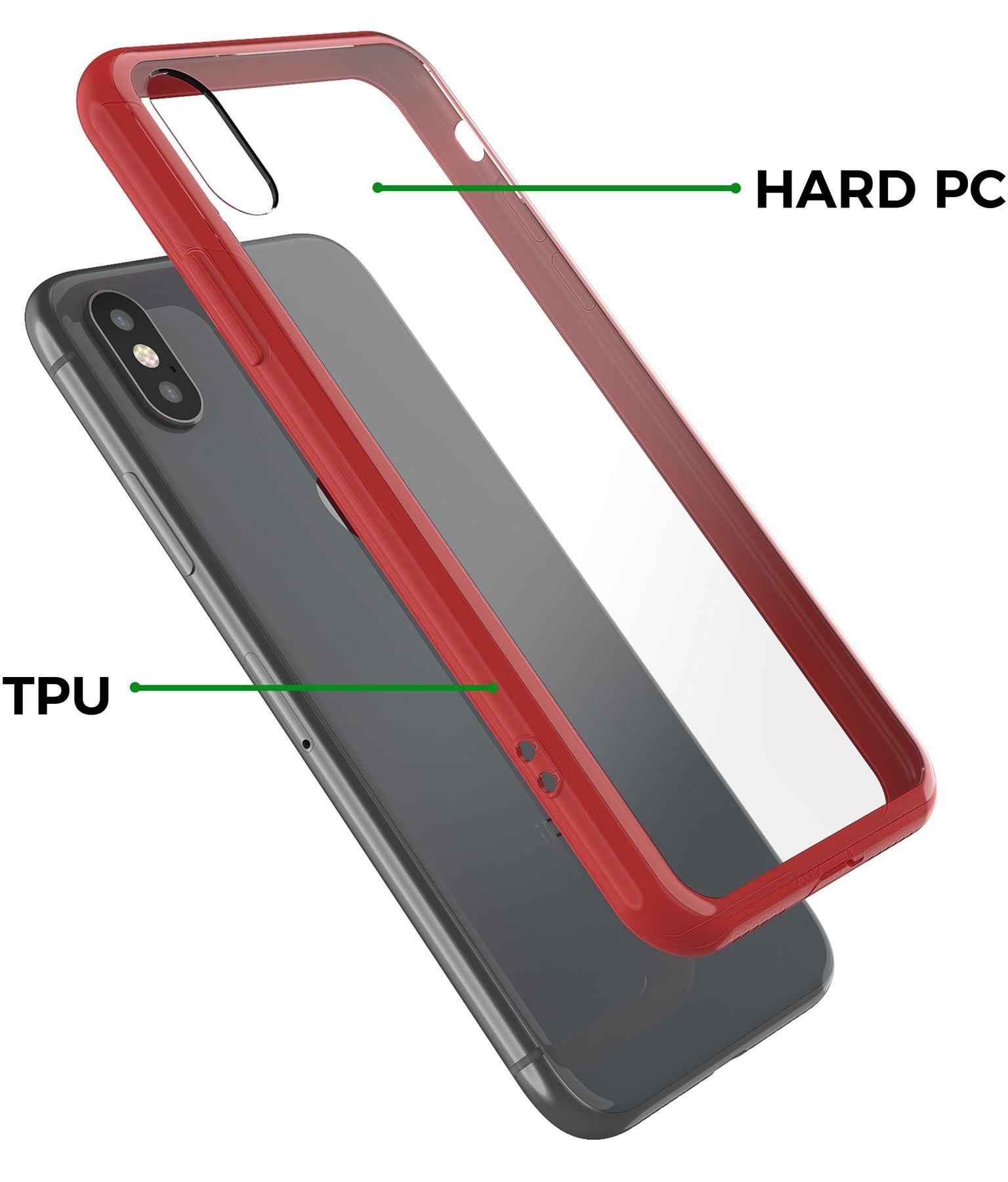 thumbnail 22 - For Apple iPhone XR Xs Max X 8 7 Plus 6 5 Se Case Cover Clear Transparent CS283