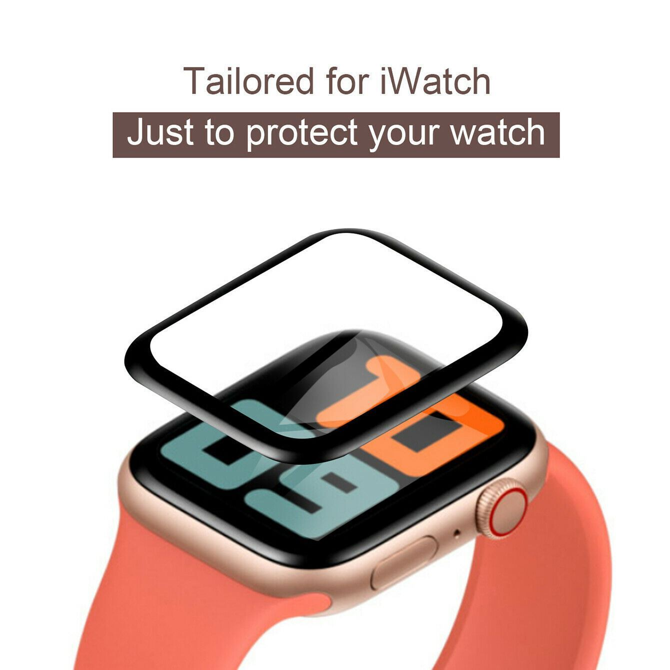 Curved-Screen-Protector-For-Apple-Watch-3D-Glass-Scratchproof-Anti-Fingerprint thumbnail 20