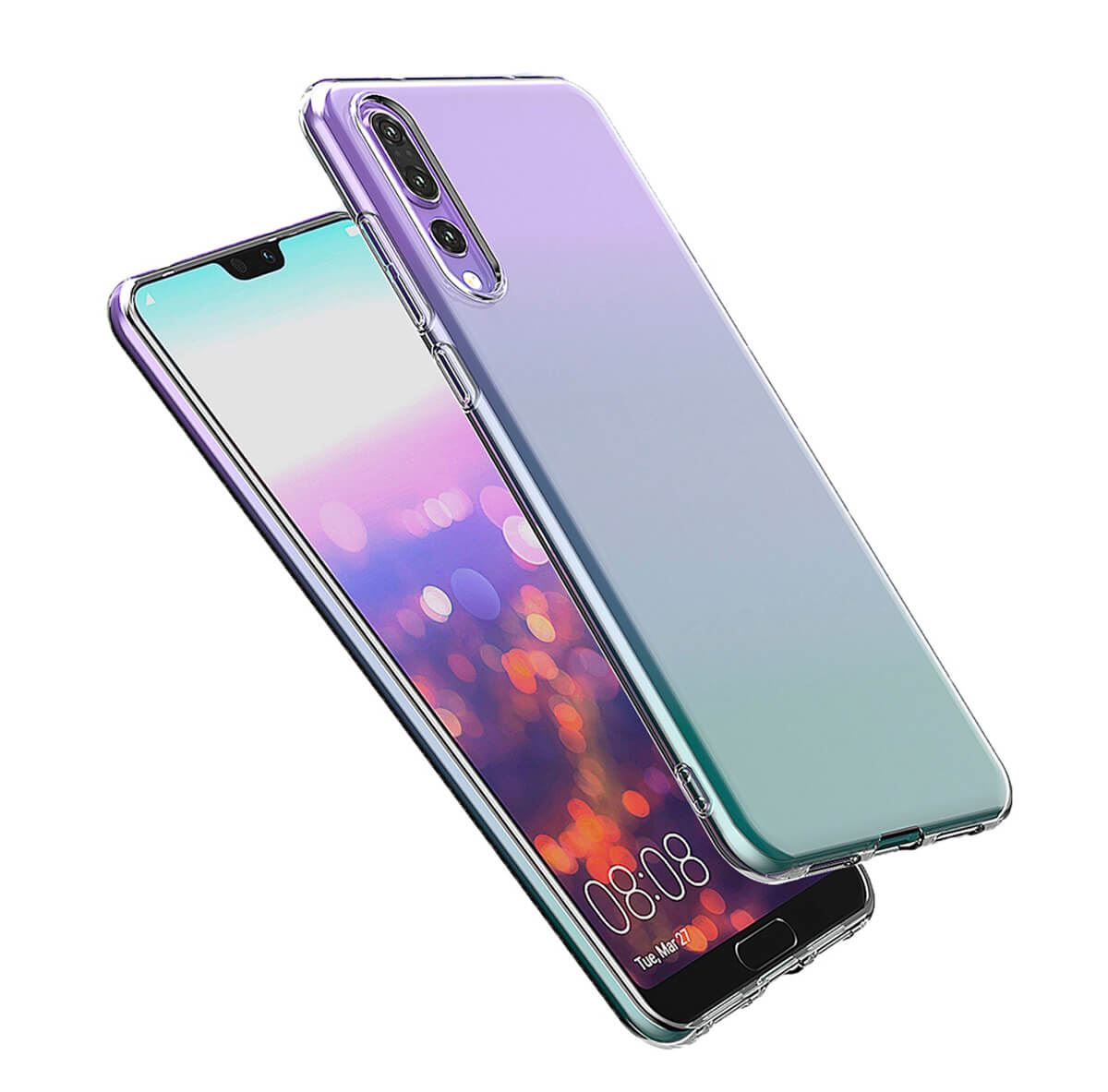 Shockproof-Silicone-Protective-Clear-Gel-Cover-Case-For-Huawei-P20-Pro-P-Smart thumbnail 16