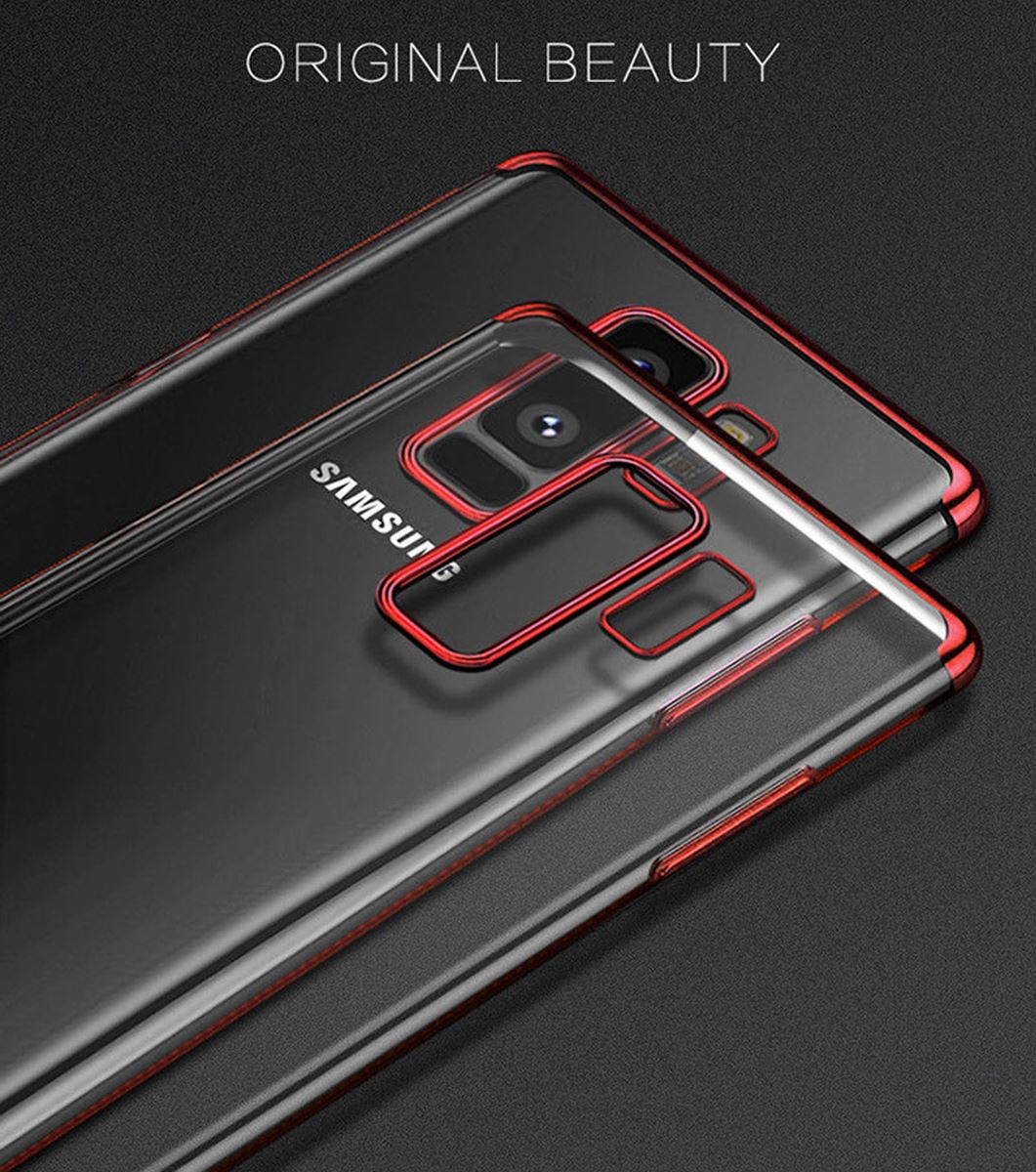Luxury-Slim-Shockproof-Silicone-Clear-Case-Cover-For-Samsung-Galaxy-S7-S8-S9-A6 thumbnail 27