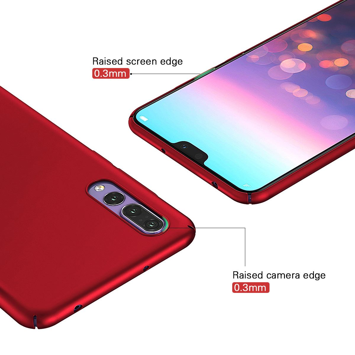 Luxury-Protective-Slim-Thin-Hard-Back-Case-Cover-For-Huawei-P20-Pro-P10-P-Smart thumbnail 24