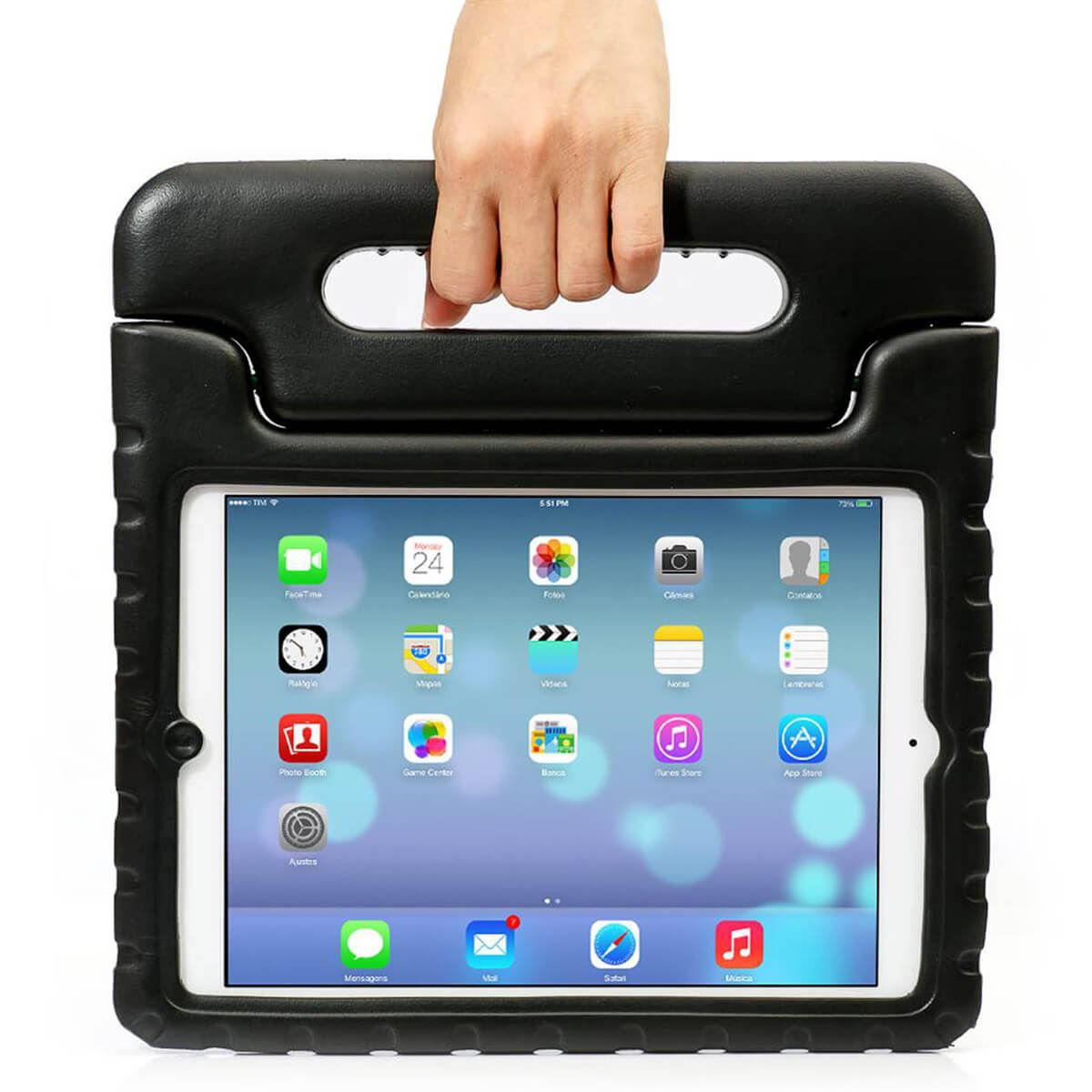 Case-For-Apple-iPad-Kids-Lightweight-Friendly-Shockproof-Maximum-ProtectiveCover thumbnail 4