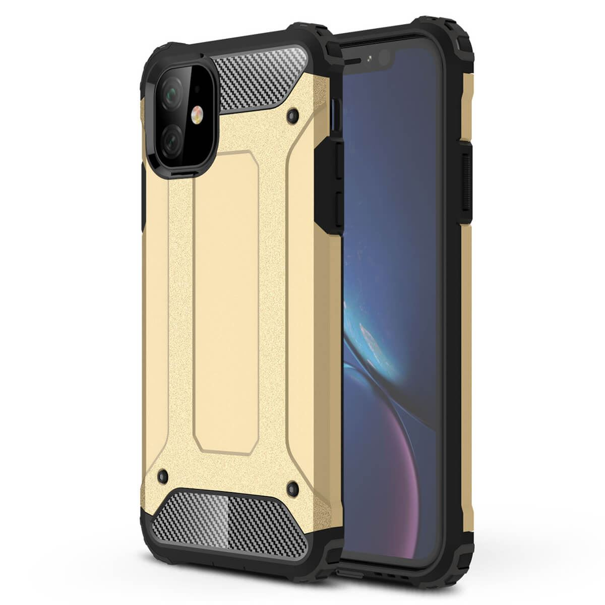 Shockproof-Bumper-Case-For-Apple-iPhone-10-X-8-7-Plus-6s-5s-Hybrid-Armor-Rugged thumbnail 9