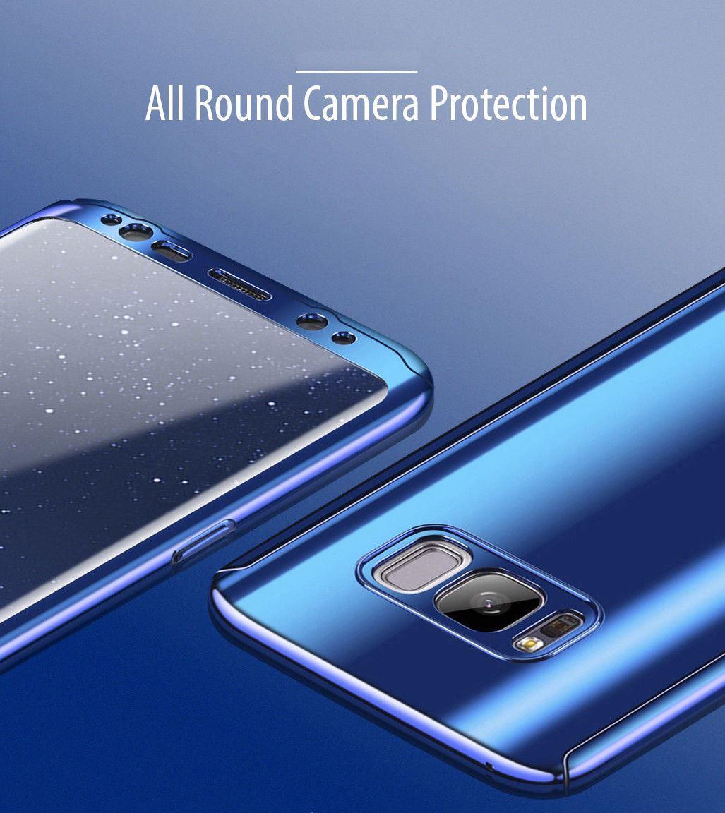 Shockproof-Hybrid-360-Ultra-Thin-Mirror-Hard-Case-Samsung-Galaxy-S7-edge-S8-S9 thumbnail 55